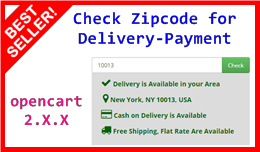 Check Zipcode for Delivery-Payment