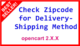 Check Zipcode for Shipping Method