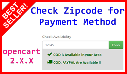 Check Zipcode for Payment Method